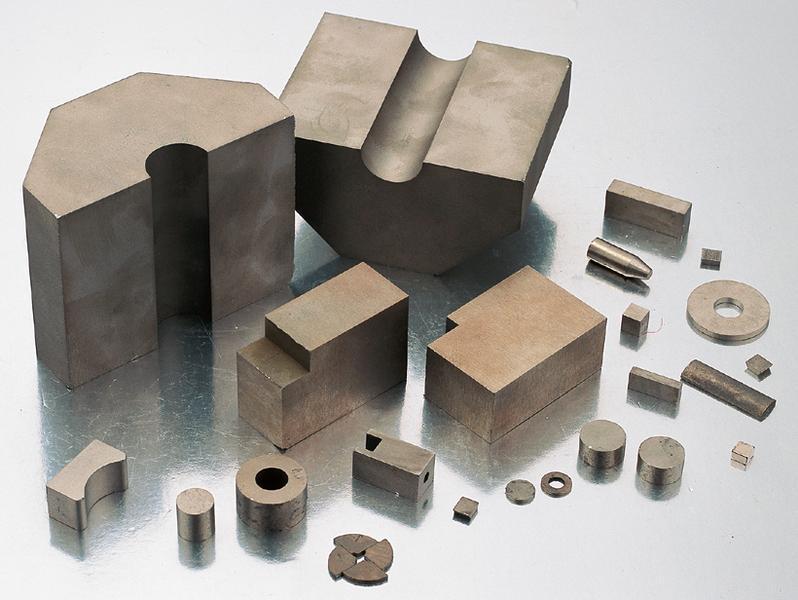 Smco irregular magnet
