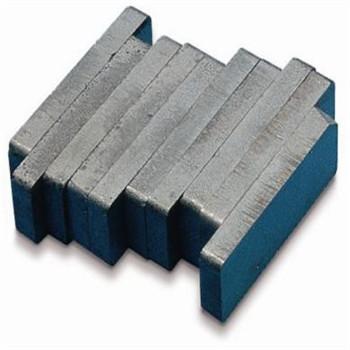 Ferrite block motor magnet
