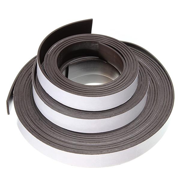 Flexible rubber magnet tape