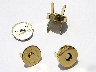 Gold coating magnetic button