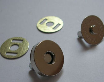 Nickel coating magnetic button